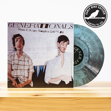 Generationals State Dogs: Singles 2017-18 (Vinyl)