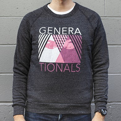 Generationals Triangle Eyes Crew Neck Sweatshirt