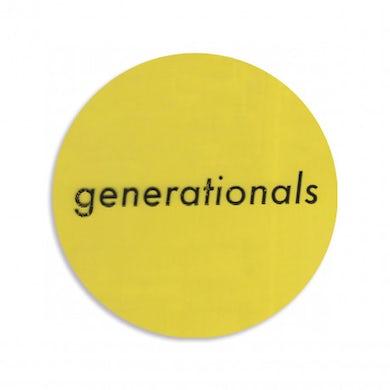 Generationals Sticker