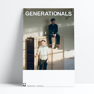 """Generationals Poster (11""""x17"""")"""