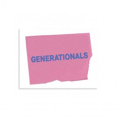 Generationals Reader As Detective Sticker