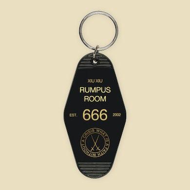 Xiu Xiu Rumpus Room Motel Keychain