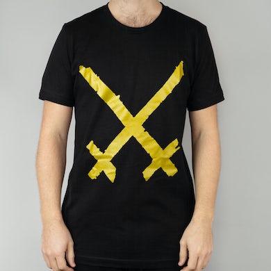 Xiu Xiu Gold Logo T-Shirt