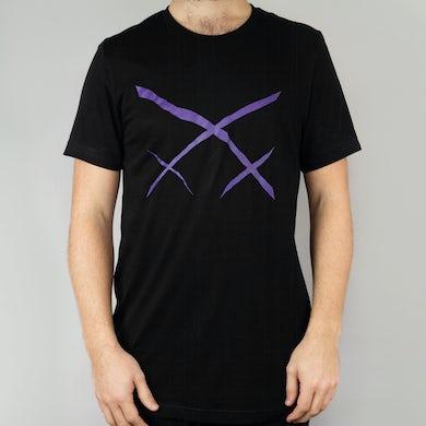 Xiu Xiu Purple Logo T-Shirt
