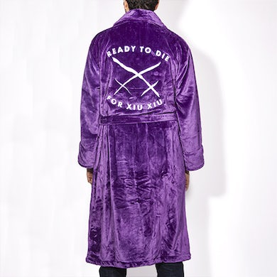 To Die For Embroidered Robe