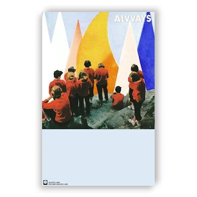 "Alvvays Antisocialites Poster (11""x17"")"