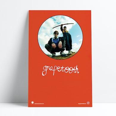 "Grapetooth Tour Poster (11""x17"")"
