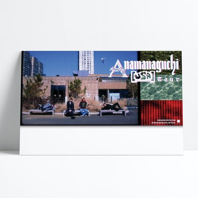 "Anamanaguchi Poster (11""x17"")"
