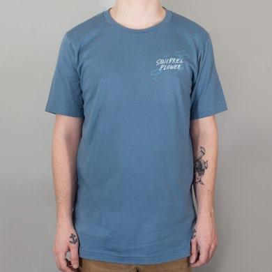 Squirrel Flower Streetlight Blues T-Shirt
