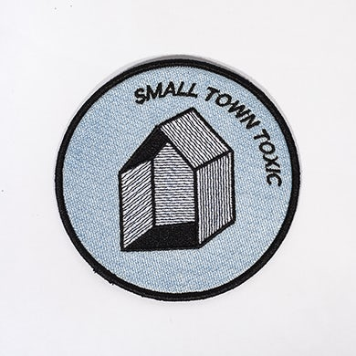 """Small Town Toxic Patch (3.5"""")"""