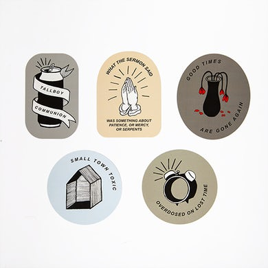 Fred Thomas-isms 5 Sticker Pack
