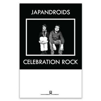 "Japandroids Celebration Rock Poster (11""x17"")"