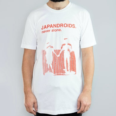 Japandroids Never Alone (White) T-Shirt