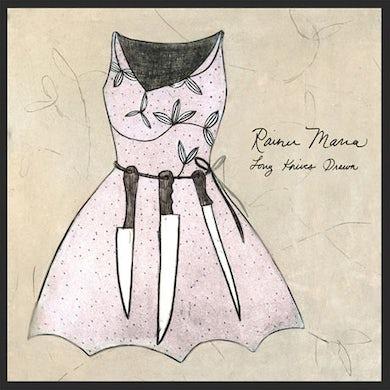 Rainer Maria Long Knives Drawn LP (Vinyl)
