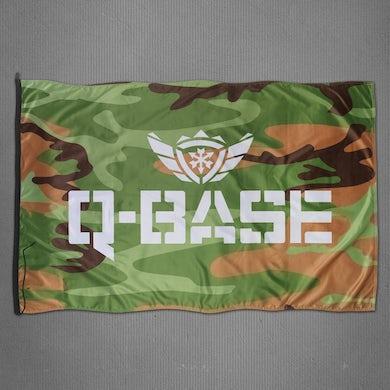 Q-Dance Q-BASE Camo Flag