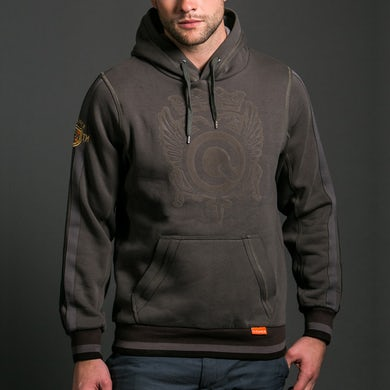 Q-Dance Qlub Wear Hooded Sweater (Anthracite)