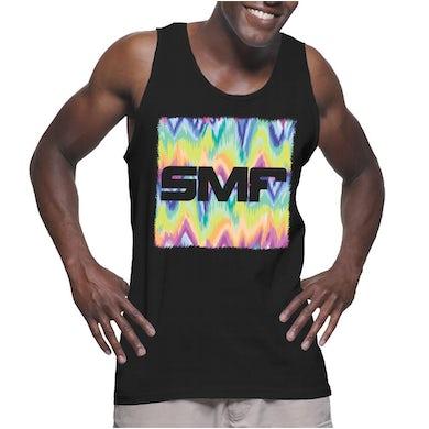 SMF Tampa Tie Dye Tank (Black)