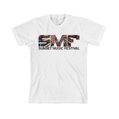 SMF Tampa Stroked White Tee