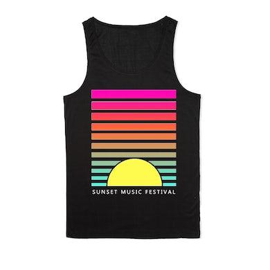SMF Tampa Sunset Lines Black Tank
