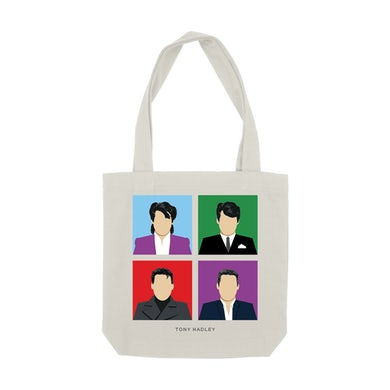 """Tony Hadley"" Tote Bag"