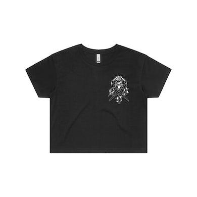 """Reaper Strength Cartel """"Reaper Team"""" Crop T-Shirt"""