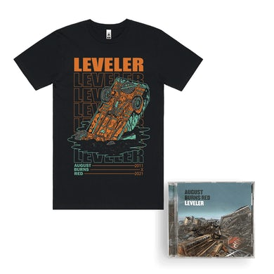 "August Burns Red ""Leveler 10 Year"" T-Shirt CD Bundle"
