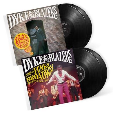 I Got A Message & Down On Funky Broadway (4-LP Bundle) (Vinyl)