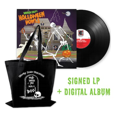 Halloween Howls: Fun & Scary Music (LP - Signed by Jess Rotter + Trick or Treat Tote + Digital Album Bundle)
