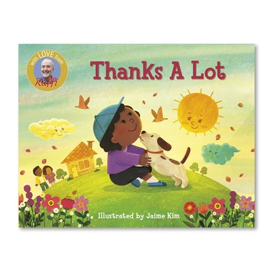 Thanks A Lot (Board Book)