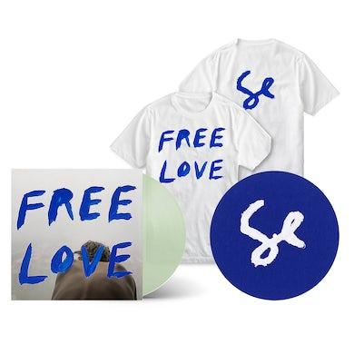 Sylvan Esso - Free Love Deluxe Bundle (Coke Bottle Clear LP + Slipmat + T-Shirt + Digital Album)