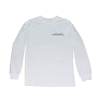 Action Bronson - Only for Dolphins White Longsleeve