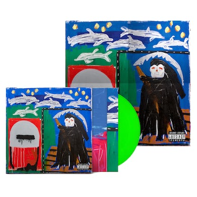 Action Bronson - Only for Dolphins Limited Edition Deluxe Lenticular LP (Vinyl)