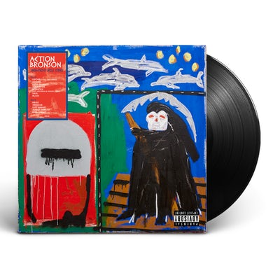 Action Bronson - Only for Dolphins Black LP (Vinyl)