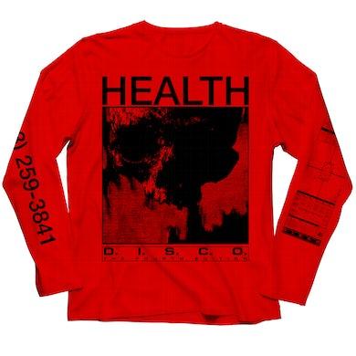 DISCO4 :: PART I Red Longsleeve T-Shirt