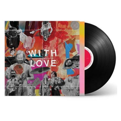 Sylvan Esso - With Love Black LP (Vinyl)