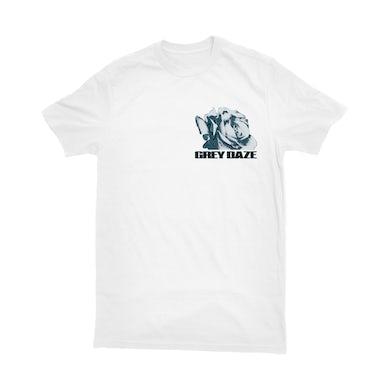 Grey Daze - White Stripped T-Shirt