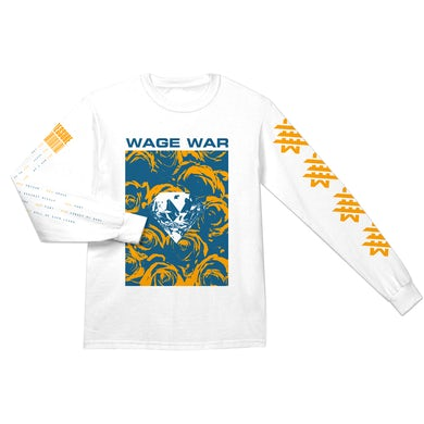 Wage War - Floral Diamond Long Sleeve