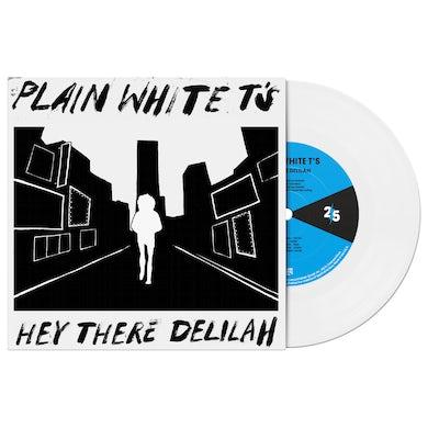"""PLAIN WHITE T'S - HEY THERE DELILAH 7"""" VINYL"""