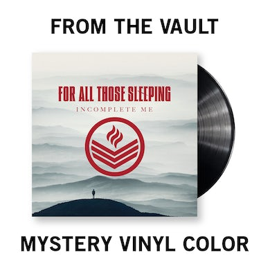 For All Those Sleeping - Incomplete Me Vinyl