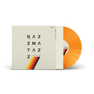 I DONT KNOW HOW BUT THEY FOUND ME - RAZZMATAZZ (Translucent Orange LP) (Vinyl)