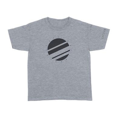 "Capstan ""Separate Circle"" Gray T-Shirt"