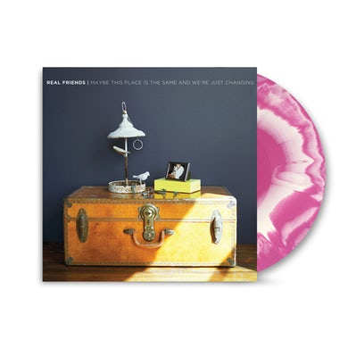 Real Friends - Maybe This Place Is The Same & We're Just Changing White/Purple Vinyl LP