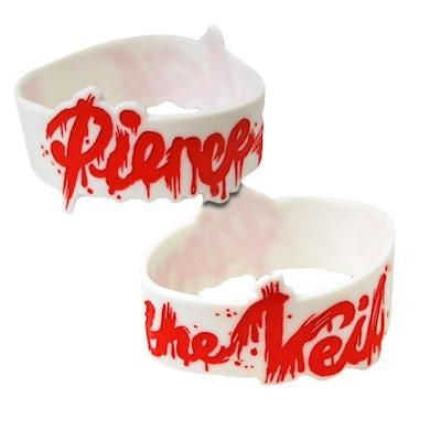 Pierce The Veil Splatter Logo Wristband