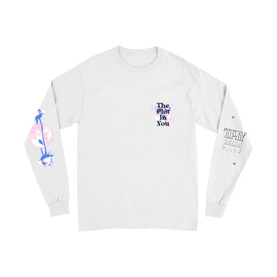 """The Plot In You """"Stray"""" White Long Sleeve T-Shirt"""