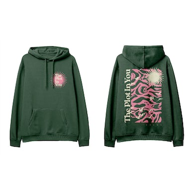 """The Plot In You """"Birds"""" Green Hoodie"""