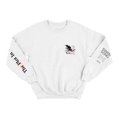 "The Plot In You ""Cupid"" White Crewneck Sweatshirt"
