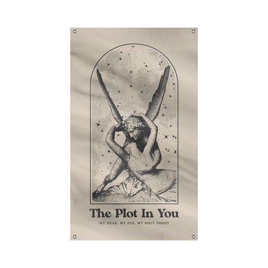 """The Plot In You """"Angel"""" Flag"""