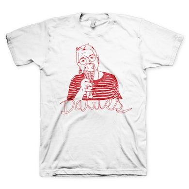Dawes - Lili Ice Cream White T Shirt