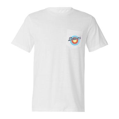 Dawes - Bullseye White T Shirt