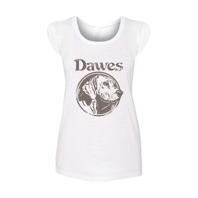 Dawes - Women's Dog Heather White T Shirt